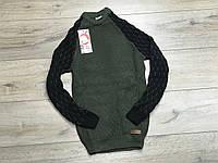 Вязаный свитер для мальчиков. 13/14 лет.