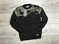 Вязаный свитер для мальчиков. 13- 16 лет.