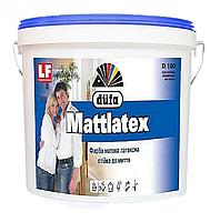 Краска латексная матовая Dufa D100 1 л