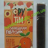 Натуральная пастила Сладкий персик ТМ ФРУ-ТИМ, 75 г (3 стика )