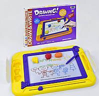 Детская досточка для рисования  цветная, в коробке