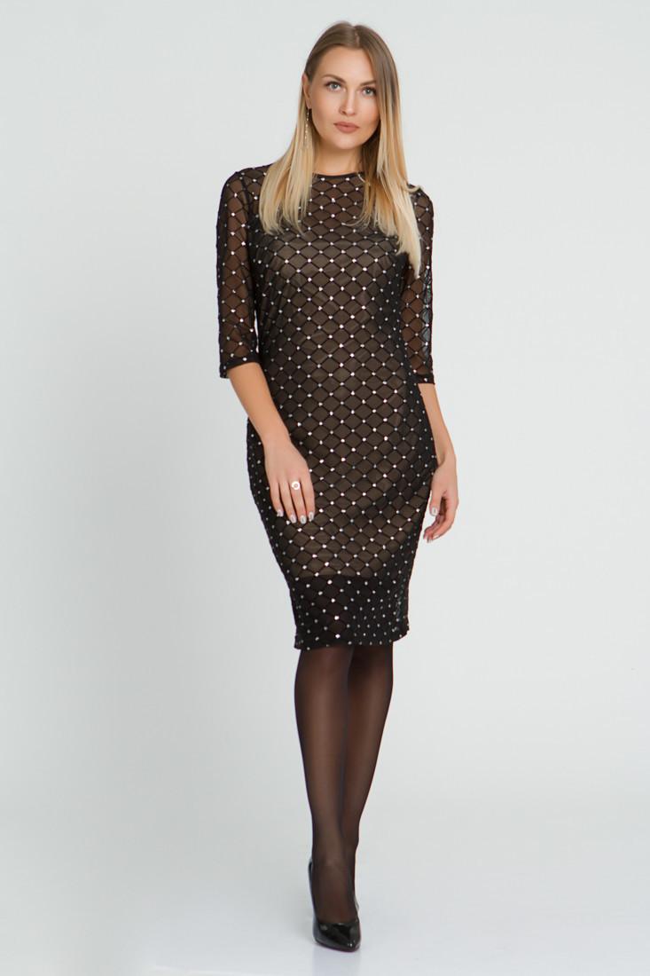 Платье LiLove 511 44-46 черный
