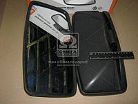 Зеркало боковое КАМАЗ 375х195 сферическое DK-5075