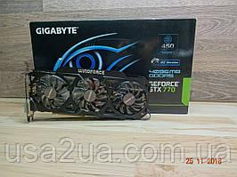Видеокарта Gigabyte GTX 770 4GB 256BIT gddr5