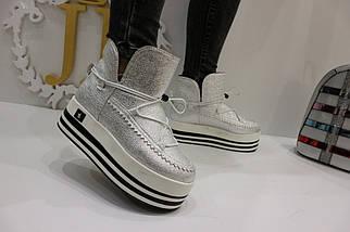 Ботинки на флисе 1-4580 (JJ), фото 3