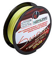 Шнур Nomura SENSUM 100м(110yds)  0.20мм  14.0кг  цвет-fluo yellow (лимонный)