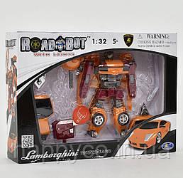 Игрушка трансформер RoadBot в кор-ке,машина,светится