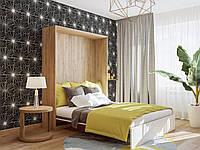 Шкаф-кровать двухспальная сп.м. 1400х2000