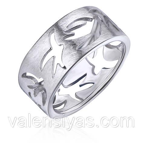 Серебряное кольцо К2/2021С, фото 2