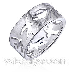 Серебряное кольцо К2/2021С