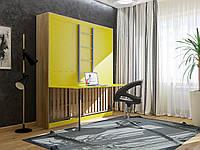 Двухъярусная кровать-шкаф трансформер со столом