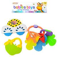 Брязкальце 8359A, 3 іграшки в наборі, в кульку, 19,5-21-3 см