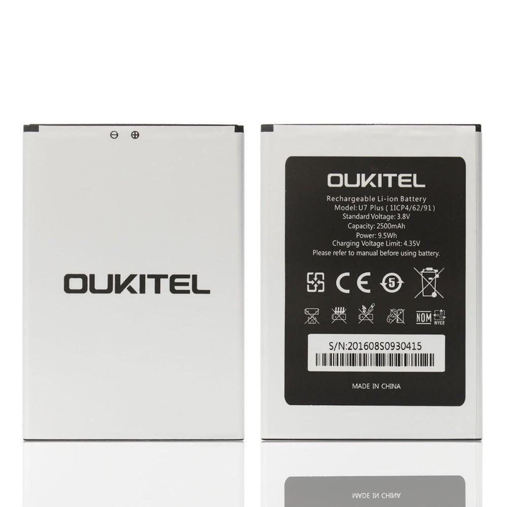Аккумулятор акб ориг. к-во Oukitel U7, 2500mAh