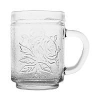 Чашка стеклянная Uniglass Roses 260 мл