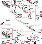 Бампер передний губа киа спортейдж 4, KIA Sportage 2016-18 QL, 86567f1000, фото 3