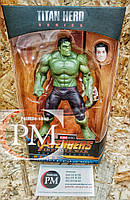 Фигурки Супер-героев (Человек Паук, Железный человек, Халк, Танос, Капитан Америка, Черная Пантера) Халк