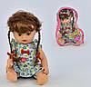 """Кукла  """"Алина"""" муз, разговаривает, в сумке"""