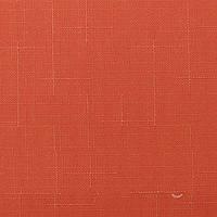 Готовые рулонные шторы 350*1500 Ткань Лён 2095 Терракот
