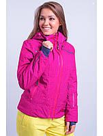 Женская горнолыжная куртка Snow Headquarter, малина Р. L