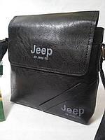 Сумка кожаная мужская Jeep