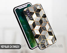 Силиконовый чехол для Apple Iphone XS Max (Куб), фото 2