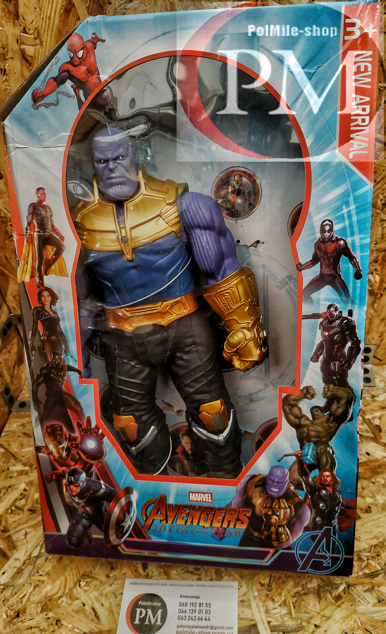Фигурки Супер-героев (Бетмен, Танос, Капитан Америка, Тор, Флеш, Черная Пантера)