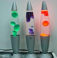 """Декоративний світильник """"Лавова лампа"""" 40 см., лампа парафінова воскова """"Lava"""" помаранчева 25 W"""