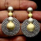 Серебряные серьги-пусеты 925 пробы с кубическим цирконием