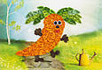 Поделки для детей «Веселая морковка» из квиллинга, фото 2