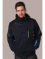 Мужская горнолыжная куртка Avecs, синий Р. 50, 58