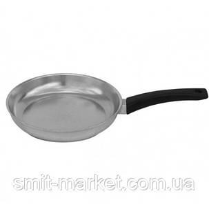 Сковорода алюминиевая Биол с ручкой и крышкой Блеск 20 см (2004БК), фото 2
