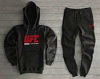 Спортивний трикотажний костюм UFC logo з капюшоном