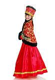 Детский карнавальный костюм для девочки Боярыня 134-152р, фото 4