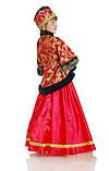Детский карнавальный костюм для девочки Боярыня 134-152р, фото 2