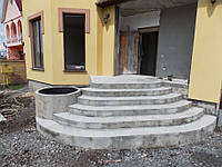 Наружные и внутренние лестницы из бетона