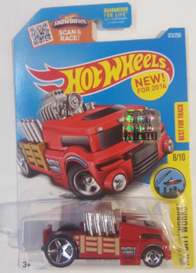 Машинка Hot Wheels 2016 Crate Racer