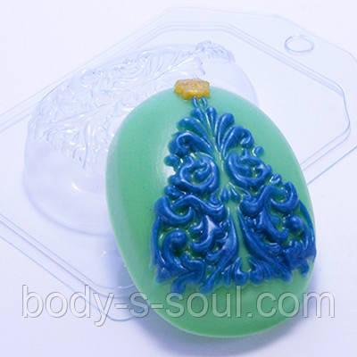 Пластиковая форма для мыла Ель ажурная