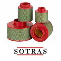 Воздушный фильтр компрессора SOTRAS SA6672, фото 1