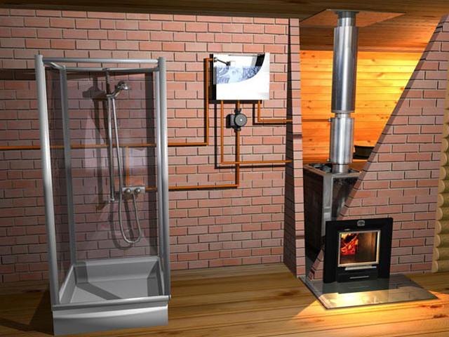 древесное отопление
