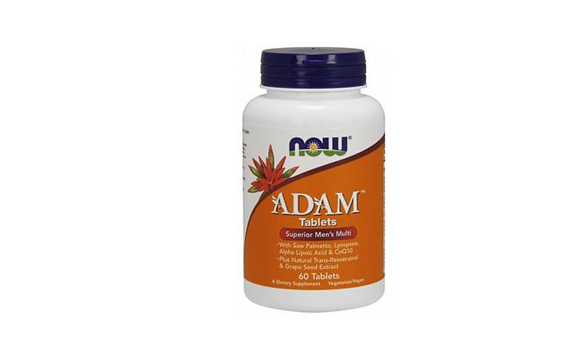 Вітаміни і мінерали NOW Adam Male Multi 60 Tabs