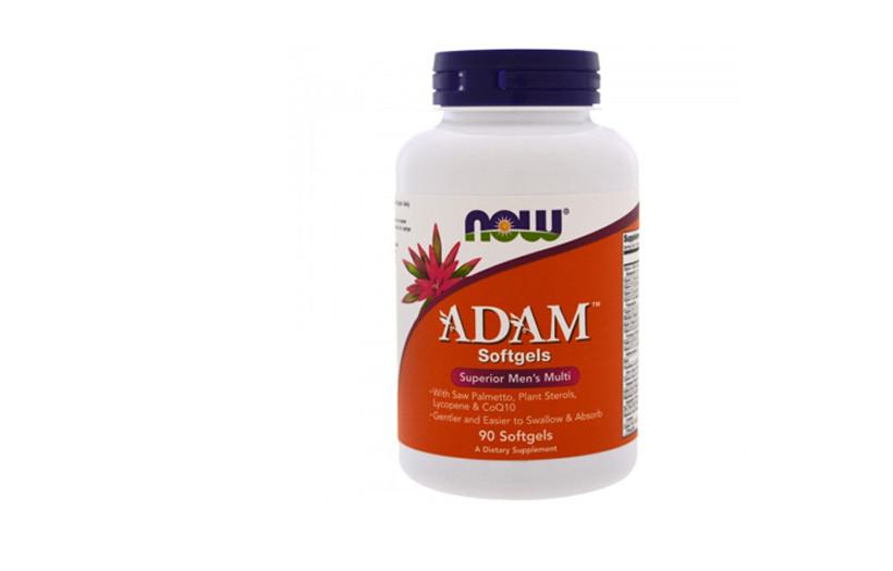 Вітаміни і мінерали NOW Adam Male Multi 90 Tabs