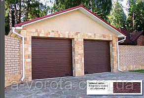 Секційні гаражні ворота Doorhan RSD01 (2 500×1 800 мм)