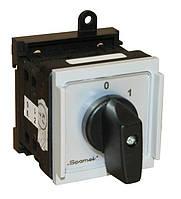 Перемикач кулачковий 3-полюсний 40А (0-1) Spamel SK40-2.8892/S10