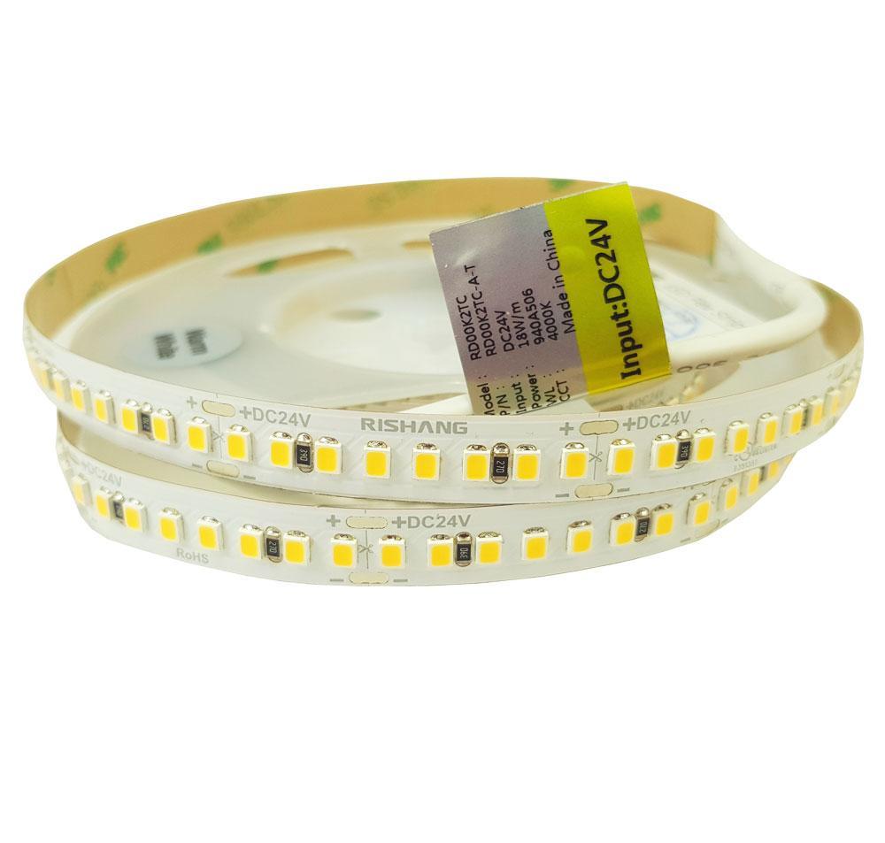 Светодиодная лента 2835-192-IP20-NW-10-24-90 (4000K)