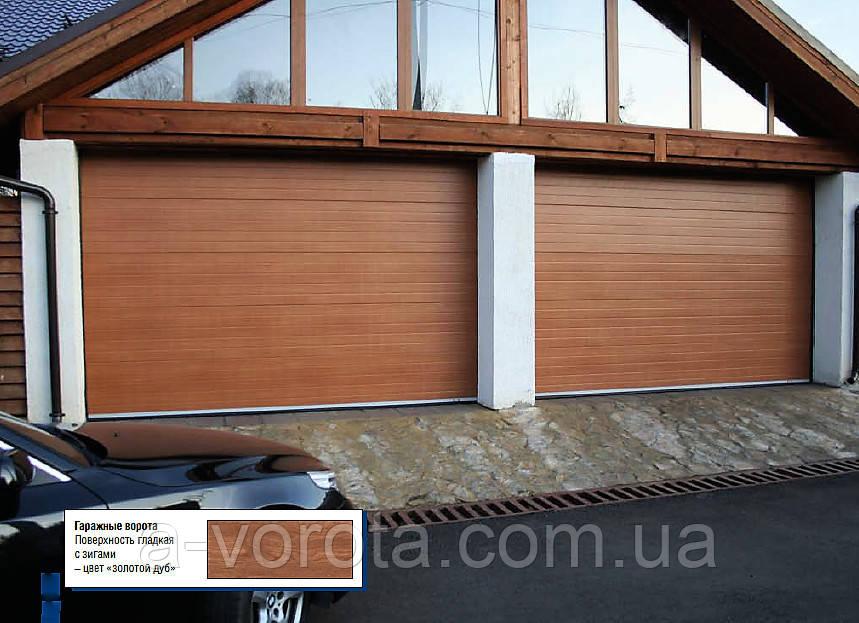 Секційні гаражні ворота doorhan RSD01 3000*2300