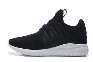 Оригинальные мужские кроссовки Adidas Tubular Runner Radial Black