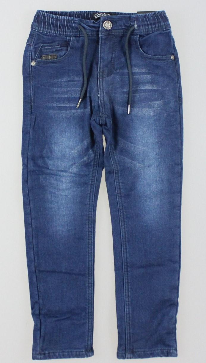 Джинсовые брюки на флисе для мальчиков Grace оптом, 116-146 рр.