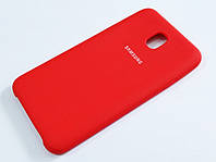 Чохол Silicone Case Cover Samsung Galaxy J7 2018 J737 червоний