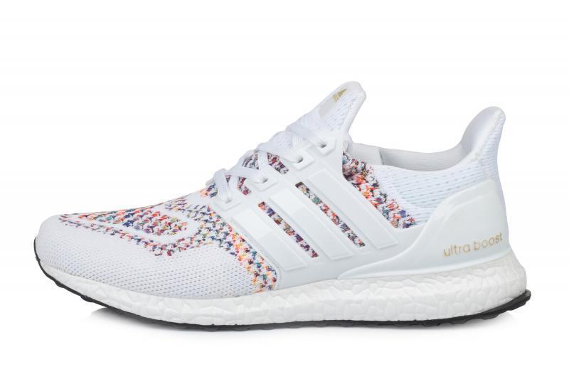 Оригинальные мужские кроссовки Adidas Ultra Boost Multicolor White