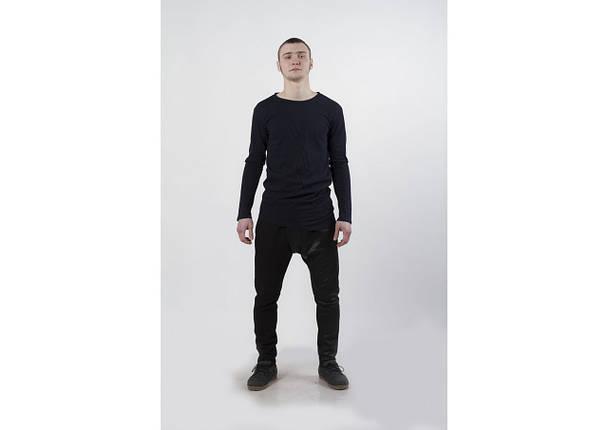 Штаны грави unisex, черные с напылением, фото 2